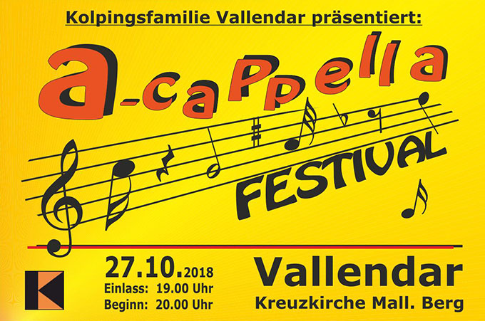 a-capella - Festival in Vallendar